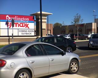 new Burlington and TJ Maxx stores