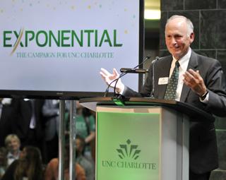 UNC Charlotte Chancellor Phil Dubois