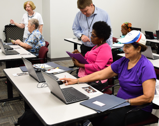UC library takes on Digital Inclusion for seniors
