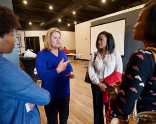 Businesses get glimpse of urban future at networking event