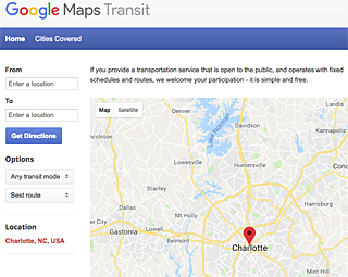 plan your lynx journey with google transit trip planner university