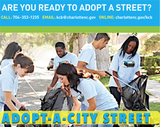 Help beautify University City – Adopt a City Street!