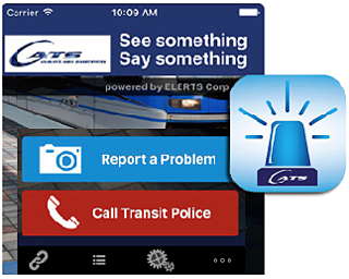 See Something, Say Something with new CATS security app