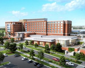 Conference center and hotel at UNC Charlotte