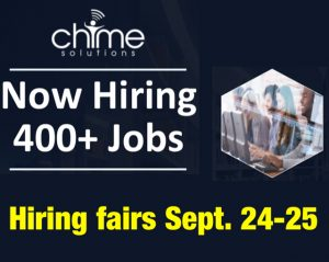 Hiring fairs for Chime Solutions