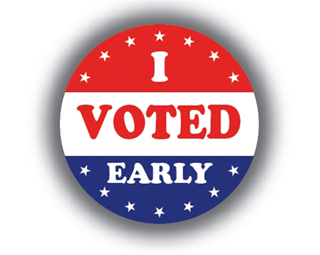 Primary election is Tuesday … or now!