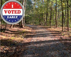 Reedy Creek Park trail