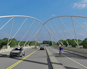 I-85 North Bridge design