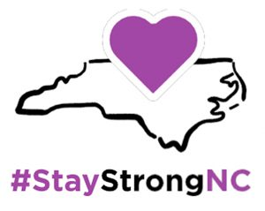 Stay Strong NC COVID-19 graphic
