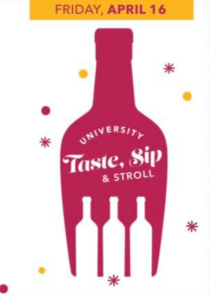 Taste, Sip & Stroll