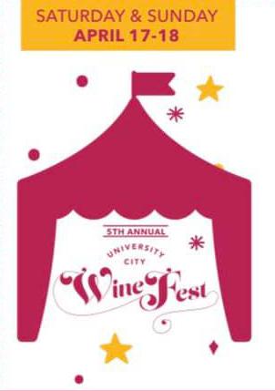 Fifth Annual University City Wine Festival
