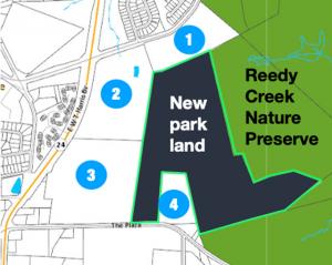 Reedy Creek Nature Preserve addition